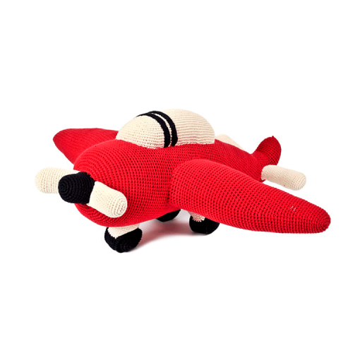 Anne Claire Petit - crocheted plane