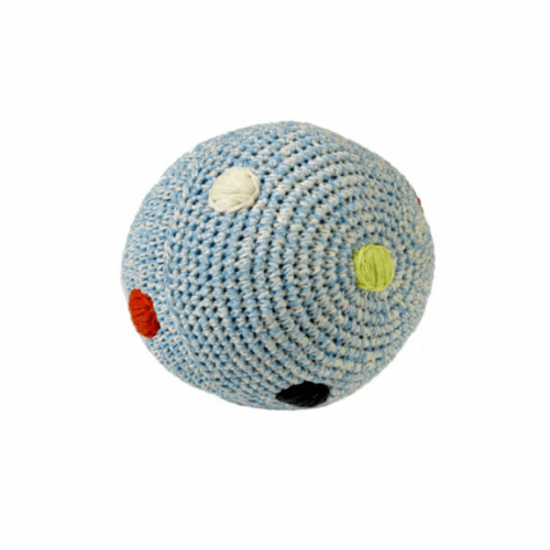 Anne Claire Petit - crochet ball in blue