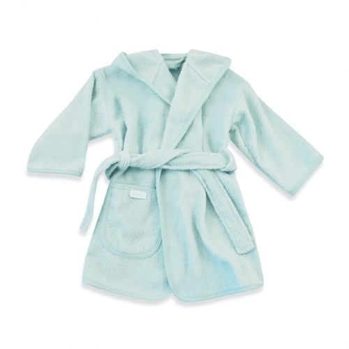 Mint green bathrobe from Funnies