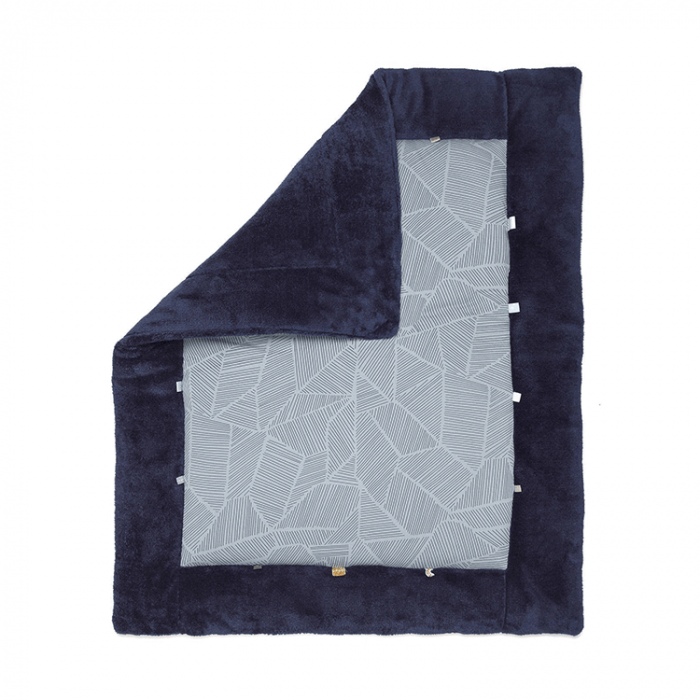 Snoozebaby playmat in Midnight Blue