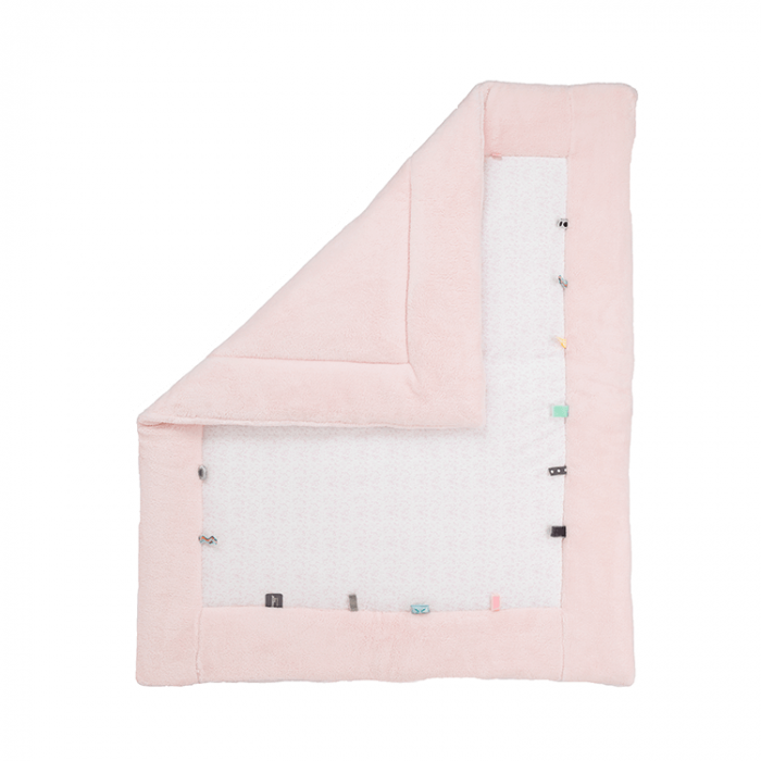 Snoozebaby speelkleed in de kleur orchid blush (lichtroze)