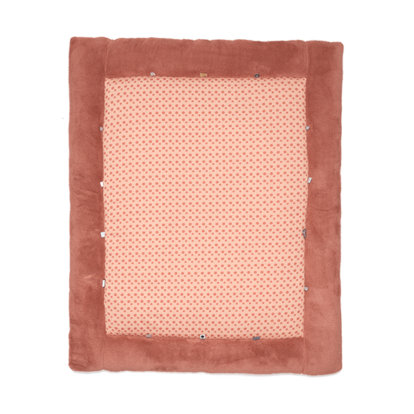 Snoozebaby playmat in the colour dusty rose