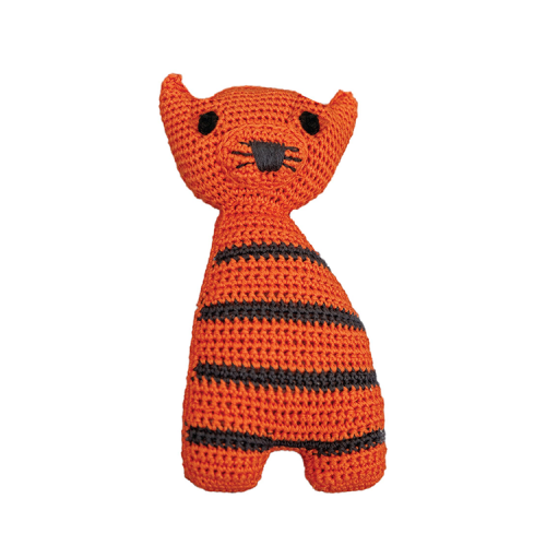 Crocheted tiger soft toy from Franck & Fischer