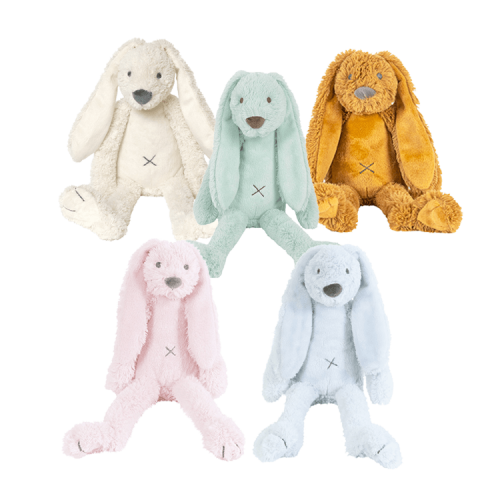 Happy Horse Rabbit Richie - roze, blauw, ivoor, mint en oker
